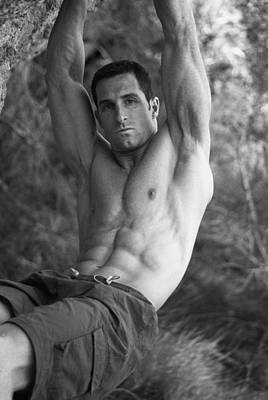 Erotic Male Photograph - Wood At Devilspunchbowl 2 by Thomas Mitchell
