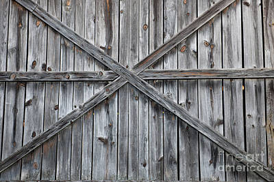 Photograph - Wood Barn Door by Dale Powell