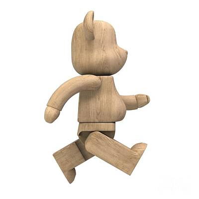Wood Bear Brick Original