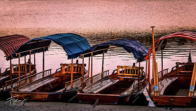 Photograph - Wood Boats Bled by Francisco Gomez