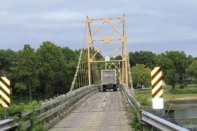 Wood Bridge Original by John Adams