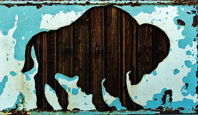 Photograph - Wood Buffalo by Larry Campbell