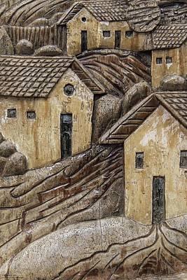 Photograph - Wood Carvings At Atolera Yoselin - 1 by Hany J