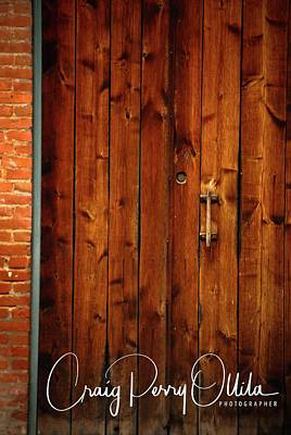 Photograph - Wood Door by Craig Perry-Ollila