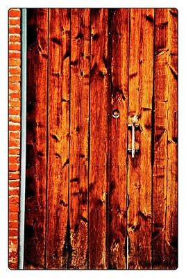 Photograph - Wood Door In Fairhaven by Craig Perry-Ollila