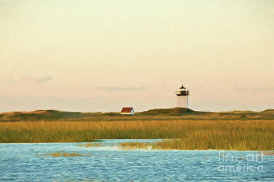 Wood End Lighthouse Art Print