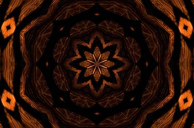 Digital Art - Wood Grain Fractal  by Michelle McPhillips