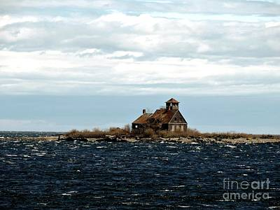 Photograph - Wood Island Lifesaving Station by Marcia Lee Jones
