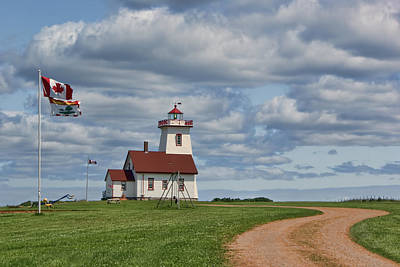 Photograph - Wood Islands Lighthouse - 2 - Pei by Nikolyn McDonald