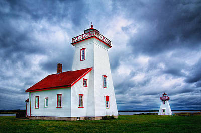 Photograph - Wood Islands Lighthouse by Carolyn Derstine