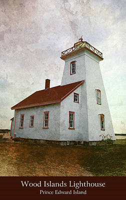 Photograph - Wood Islands Lighthouse by WB Johnston