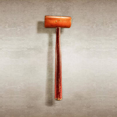 Hardware Photograph - Wood Mallet by YoPedro