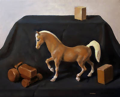 Painting - Wood 'n Horse by Robert Holden