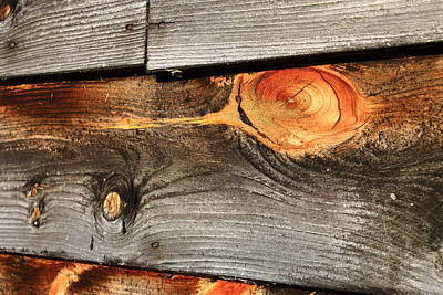 Photograph - Wood Planks by Frank Romeo