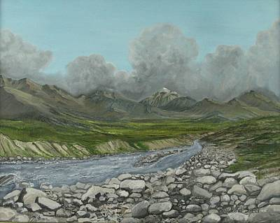 Wood River Storm Art Print by Amy Reisland-Speer