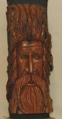 Wood Spirit IIi Original by Russell Ellingsworth