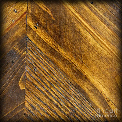 Photograph - Wood Square by Karen Adams