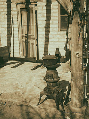 Photograph - Wood Stove by Charles McKelroy