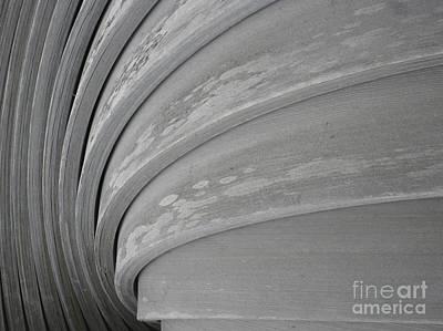 Wood Swirl Art Print by Karen Sydney