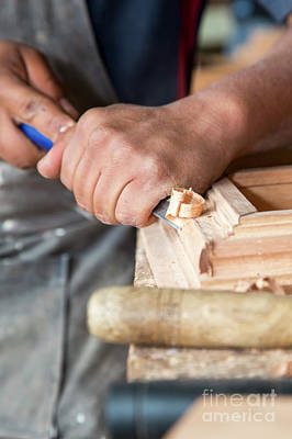 Photograph - Wood Workshop by Jim West