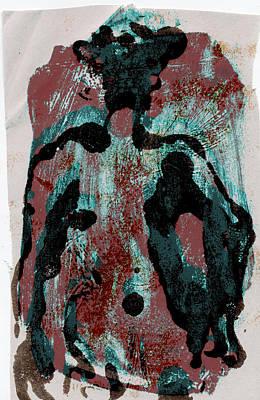 Woodblock 6 Print by Noredin Morgan