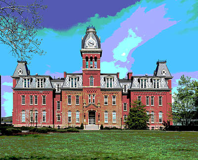 Woodburn Hall Mixed Media - Woodburn Hall by Charles Shoup