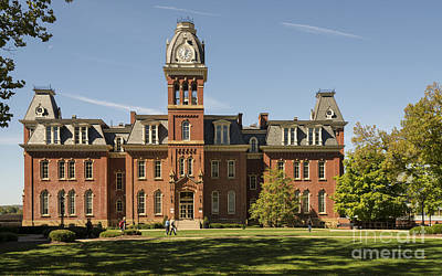 Woodburn Hall Photograph - Woodburn Hall -- West Virginia University by Kenneth Lempert