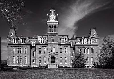 Woodburn Hall - West Virginia University Art Print by L O C