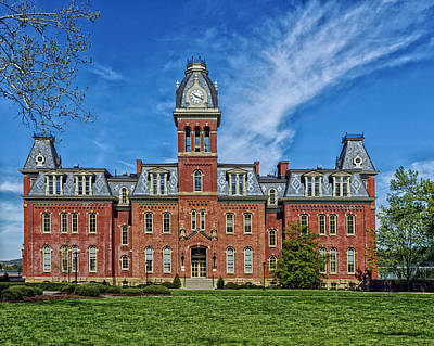 Woodburn Hall - West Virginia University Art Print by Mountain Dreams