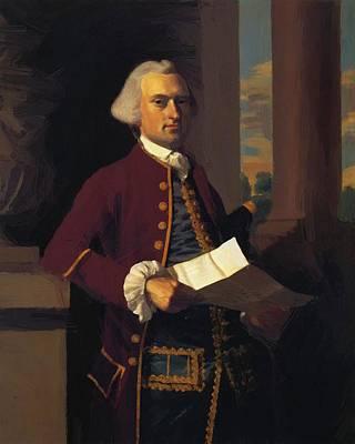 Painting - Woodbury Langdon 1767 by Copley John Singleton