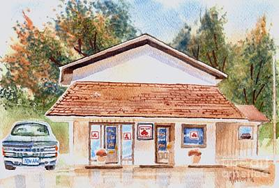 Woodcock Insurance In Watercolor  W406 Art Print