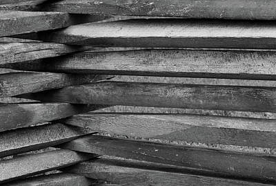 Photograph - Wooden Angles by Karen Harrison