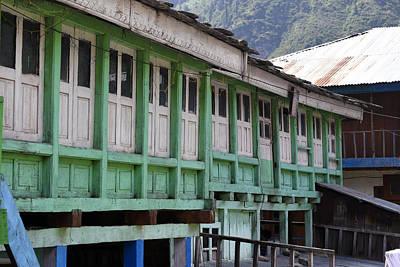 Photograph - Wooden Architecture by Sumit Mehndiratta