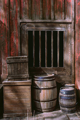 Wooden Barrels Art Print by Carlos Caetano