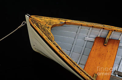 Photograph - Wooden Boat Close-up by Jim Corwin