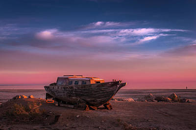 Photograph - Wooden Boat by Ralph Vazquez