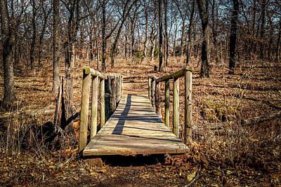 Photograph - Wooden Bridge by Doug Long
