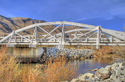 Photograph - Wooden Bridge In Antelope Valley by Donna Kennedy