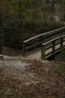 Art Print featuring the photograph Wooden Bridge by Kim Henderson