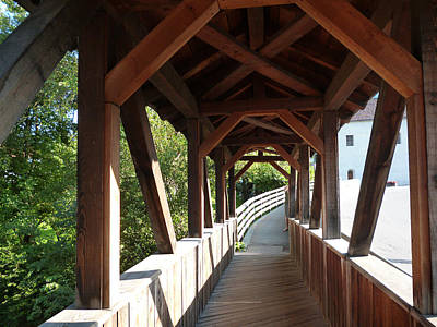 Photograph - Wooden Bridge by Laura Greco