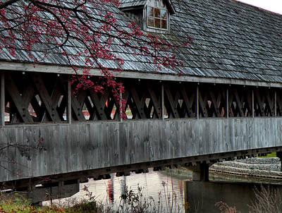 Photograph - Wooden Bridge by Scott Hovind