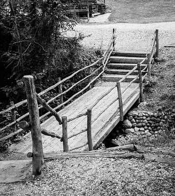 Photograph - Wooden Bridge by Teresa Mucha