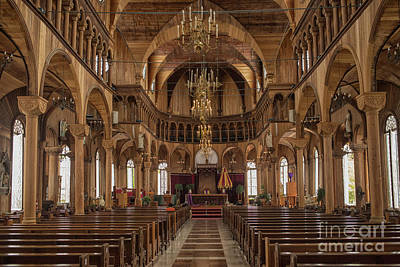 Photograph - Wooden Cathedral by Patricia Hofmeester