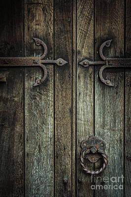 Wooden Church Door Art Print
