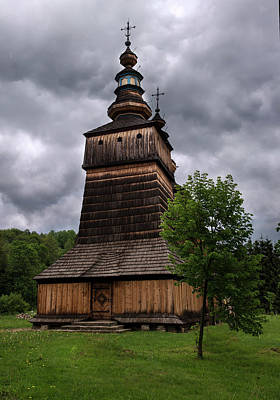 Photograph - Wooden Church In Krempna by Jaroslaw Blaminsky