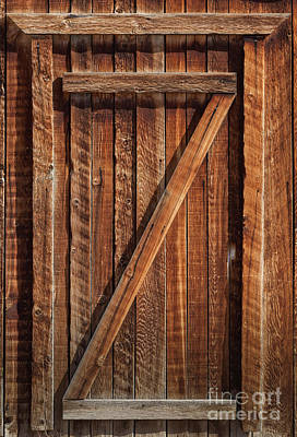 Photograph - Wooden Door by David Millenheft