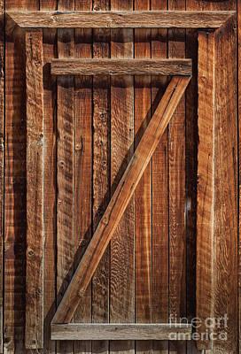 Photograph - Wooden Door by David Millenheft