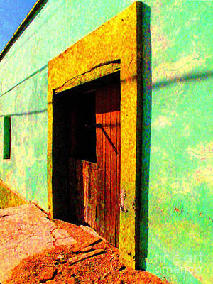 Image Gypsies Photograph - Wooden Door La Noria By Darian Day by Mexicolors Art Photography