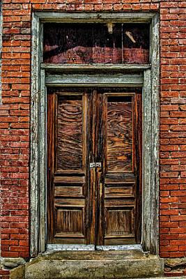 Photograph - Wooden Door by Tim Wilson