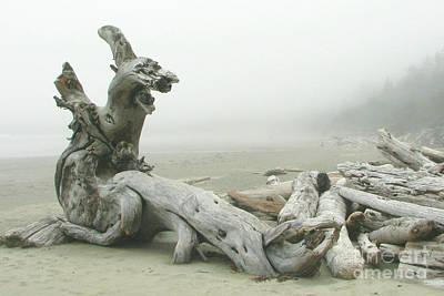 Wooden Dragon Art Print